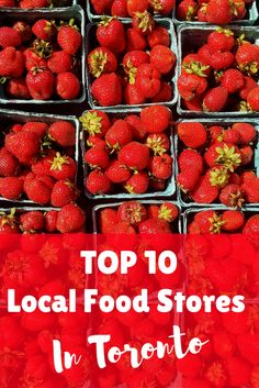The best local/organic/GMO-free stores and farmers markets in Toronto! Must visit! Herbs For Depression, Great Restaurants, Farmers Market, Free Food, Toronto, Yummy Food, Organic, Fruit, Delicious Food