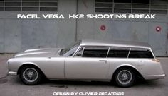 Facel Vega HK2 break de chasse , shooting break