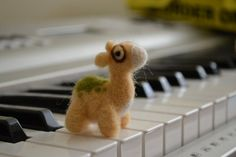 Needle Felted Numel by feltieflaffy.deviantart.com on @DeviantArt