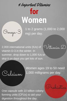 Best Vitamins For Women Of Every Age 60623bf97