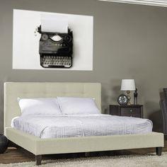 Found it at Wayfair - Callasandra Upholstered Panel Bed