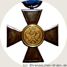 Prussia - UK. German States.   Landwehr Service Award 1st class 1868 Donated: July 4, 1868 by King William I Awarded: 1868-1918