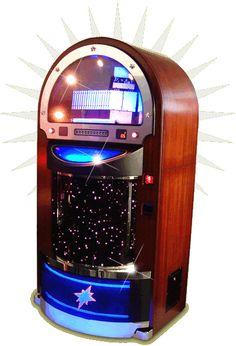 jukeboxes   Starlite Juke Box Retro CD Jukebox MP3 Jukebox iPod Jukebox from ...