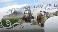 Air New Zealand Air New Zealand, Long White Cloud, Richard Armitage, Best Actor, The Hobbit, Mount Rushmore, Thorin Oakenshield, Actors, Lotr