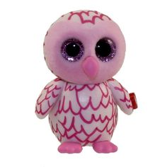 From the Ty Beanie Baby Boos - Mini Boos collection. Gray Owl, Pink Owl, Princess Diana Bear, Mini Boo, Ty Beanie Boos, Plush Animals, Gadgets, Barbie, Teddy Bear