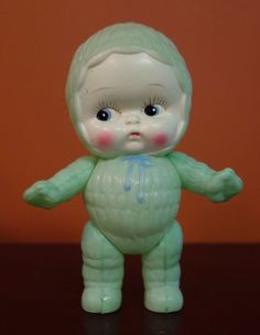 Vintage Made in Japan celluloid doll.