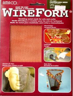 Amaco American Art Clay Co. Inc. WireForm Copperform Mesh Copper is available at Scrapbookfare.com.