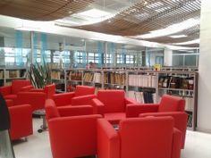 Fotografías de la biblioteca del Complejo Sur de Bogotá