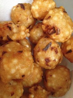 How to Make Tapioca Fritters ( Sabudana Wada)