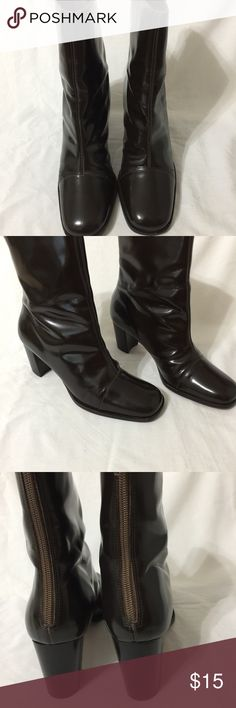 Hugo Buscati Boots Shoes were well loved with a lot of wear left. There are blemishes on both Boots but overall still a great pair of boots. Cleaning out the closet so my lost may be your treasure. Hugo Buscati Shoes Heeled Boots