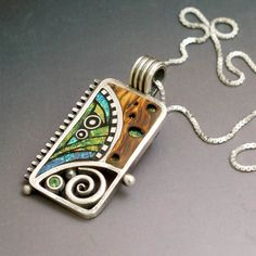 Gorgeous Metal Clay work by the talented Liz Hall.