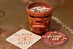 6 Drinks You Must Try At Disney Springs - # 2 – Cool-Headed Monkey at Jock Lindsey's Hangar Bar - Click to read this great article from the TouringPlans Blog.  Learn how you can get a free TouringPlans subscription from http://www.buildabettermousetrip.com/free-touring-plans