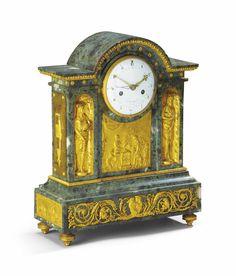 date unspecified PENDULE DE LA FIN DE L'EPOQUE LOUIS XVI  DERNIER QUART DU XVIIIEME SIECLE  Price realised  EUR 16,250