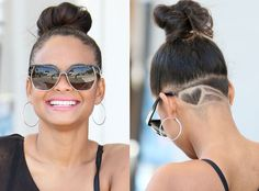 Christina Milian Shaves a Heart on the Back of Her Head?See the Pic! | E! Online Mobile
