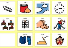 cl work=Speech therapy ideas, see more e.g. free flashcards at this website http://chatycathy.wordpress.com/