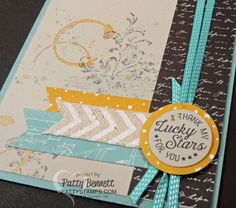 Timeless Textures Layered Card | Patty's Stamping Spot | Bloglovin'