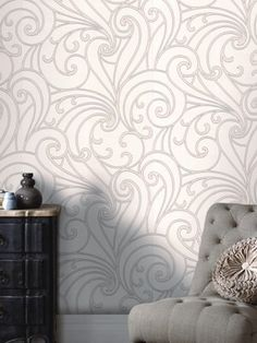 Saville Wallpaper - Grey, http://www.very.co.uk/graham-brown-saville-wallpaper-grey/1392018387.prd