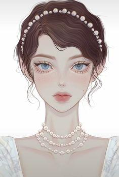 Anime Girl Dress, Anime Girl Cute, Beautiful Anime Girl, Anime Art Girl, Kawaii Anime Girl, Character Illustration, Illustration Art, Fantasy Art, Digital Art Fantasy