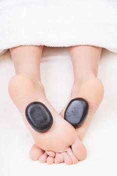 Find the massage that's right for you. Hot stone massage is great for increasing circulation and decreasing anxiety.