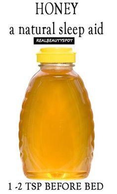 Top 10 Health benefits of Honey - Sleep remedy - realbeautyspot.com