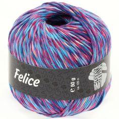 FELICE 08-blue / turquoise / zyklam / rosè / violet / beige