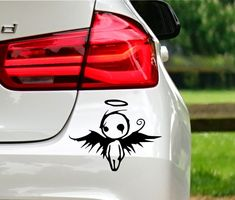 Emo angel I will make decals for you like this one on picture. Top quality, Free postage across the world available. Custom Car Decals, Custom Cars, Stickers Online, Car Stickers, Spice Things Up, Emo, Angel, Pictures, Photos
