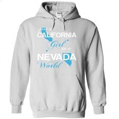 (CAJustXanh001) Just A California Girl In A Nevada Worl - #tee trinken #tee quotes. CHECK PRICE => https://www.sunfrog.com/Valentines/-28CAJustXanh001-29-Just-A-California-Girl-In-A-Nevada-World-White-Hoodie.html?68278