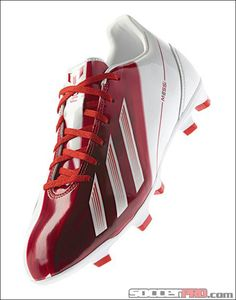 adidas Messi F30 TRX FG Soccer Cleats - Red with White...$107.99
