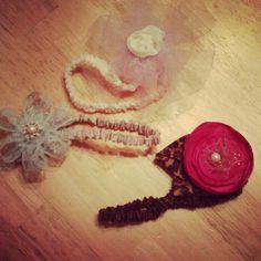 DIY baby headbands :)