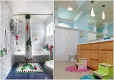 Amazing Interior Design 10 Cute and Creative Ideas for a Kids' Bathroom