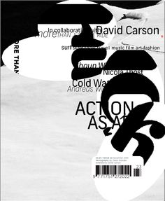 """David Carson: Type designer David Carson is the """"grunge typographer"""" whose magazine Ray Gun helped explode the possibilities of text on a page. Why you should listen to him: David Carso… David Carson Design, Milton Glaser, Massimo Vignelli, Herb Lubalin, Graphic Design Typography, Graphic Design Illustration, Graphic Design Inspiration, Creative Inspiration, Typography Inspiration"""
