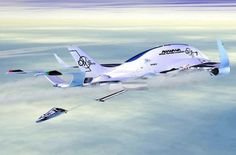 GIGABay and Ceres G Space - GIGABay and Ceres G Space Tourism Team is an impressive proposal from Oscar Vinals, a big cargo plane that can hold up to three spaceships.