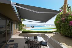 The Luxaflex Contemporary Series Folding Arm Awnings are German designed and engineered for enhanced durability in the harsh Australian climate.