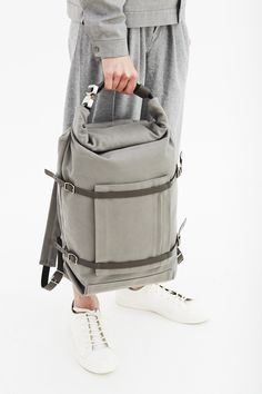 U-tility Backpack Waxed Grey