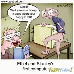 Funny Flash   Funny cartoon about old people and computers. #old people #dirty jokes #cartoons