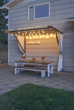 Compilation of appealing and affordable backyards on a budget ideas that will help you do it as beautiful but for less. For more go to https://glamshelf.com #homedecor #terrace #patio