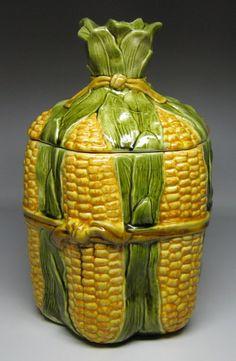 Corn Bundle Cookie Jar by Metlox