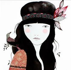Recogedor: Lady Desidia - Ilustraciones