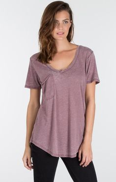 A best selling basic pocket tee from Z Supply Cotton/Polyester blend