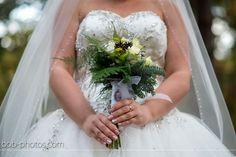 Bruid met Bruidsboeket Bob-photos.com