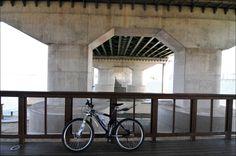 MTB, under the Bridge.. strange ^^