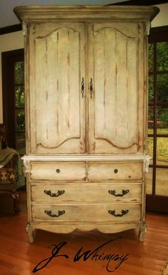 Superbe Painted French Glazed Armoire | New Living Room | Pinterest | French And  Armoires