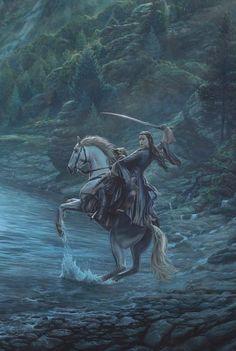 Illustrations and quotes from the works of Tolkien Thranduil, Legolas, Aragorn, Gandalf, Hobbit Art, O Hobbit, John Howe, Arwen, Jrr Tolkien