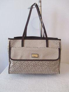 Bag Purse Handbag Tommy Hilfiger New Color Beige Tote II  6933525 235 #TommyHilfiger #Totes