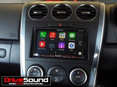 Mazda CX-7 with Apple CarPlay installed by DriveSound.
