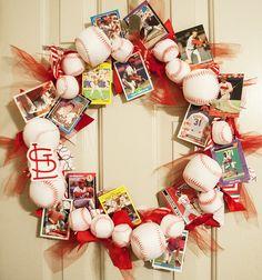 Cardinals Baseball Wreath | Flickr - Photo Sharing!