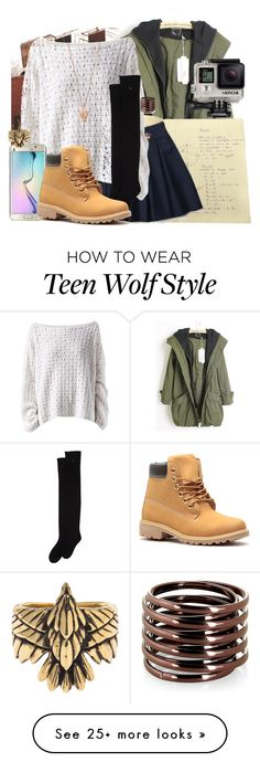 """""""Untitled #638"""" by bunnybear02 on Polyvore featuring HANIA by Anya Cole, Samsung, Pamela Love and GoPro"""