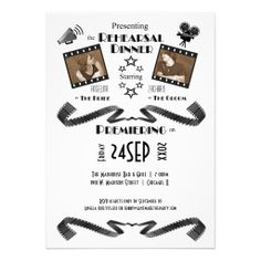 =>>Cheap          Contemporary Movie Fan Rehearsal Dinner Invitation           Contemporary Movie Fan Rehearsal Dinner Invitation today price drop and special promotion. Get The best buyReview          Contemporary Movie Fan Rehearsal Dinner Invitation Online Secure Check out Quick and Easy...Cleck link More >>> http://www.zazzle.com/contemporary_movie_fan_rehearsal_dinner_invitation-161602302405460645?rf=238627982471231924&zbar=1&tc=terrest