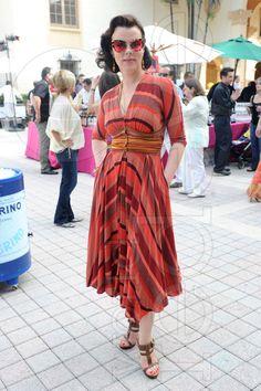 Debi Mazar Dress Swine & Wine|World Red Eye