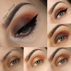 Make a statement on your night out with iconic smokey eyeshadow in earth tones. Punctuate the look with bold winged out liner for definition. DIY with this pictorial and the essentials listed.